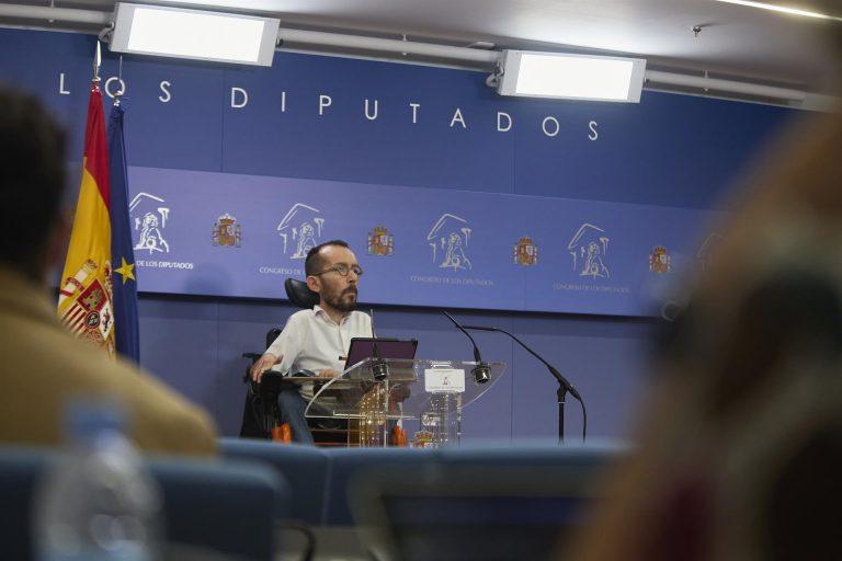 Echenique cree que los indultos son «indispensables» para solucionar el conflicto catalán