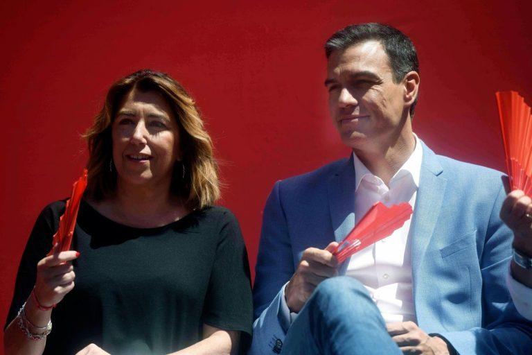"""Sánchez, sobre si cree que Susana Díaz debe dimitir: """"La democracia ha hablado y ha apuntado renovación y unidad"""""""