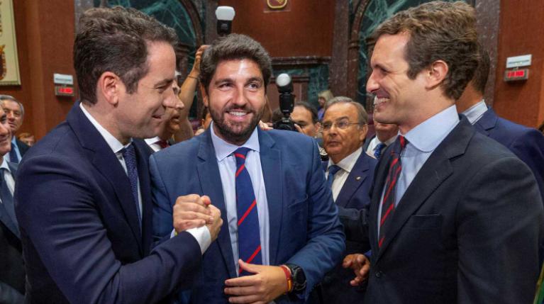 Podemos: «López Miras ha invertido el dinero para recuperar el Mar Menor en autobombo y propaganda»