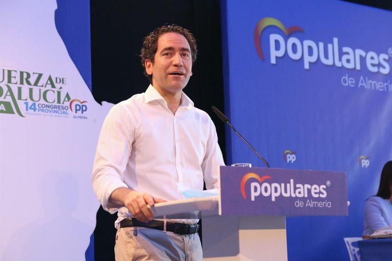 """García Egea responde a Arrimadas: """"Las mociones de censura a Sánchez se hacen evitando romper gobiernos regionales"""""""