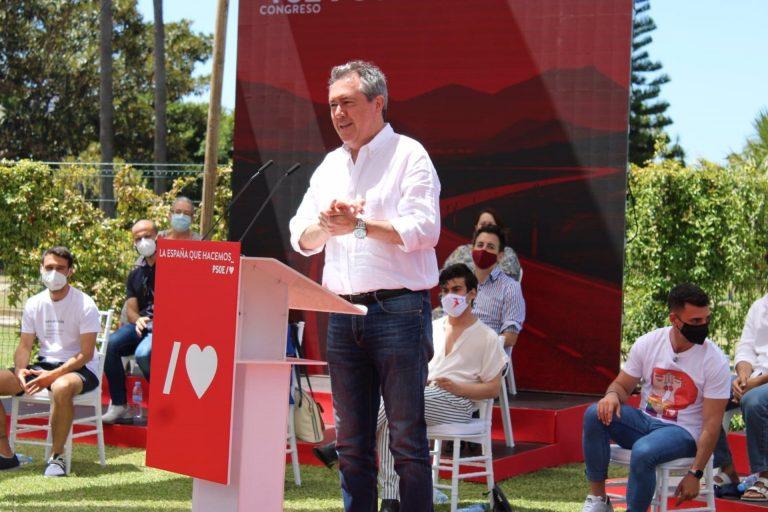 Juan Espadas: «Sánchez da muestras de que cuando somos valientes, gobernamos»