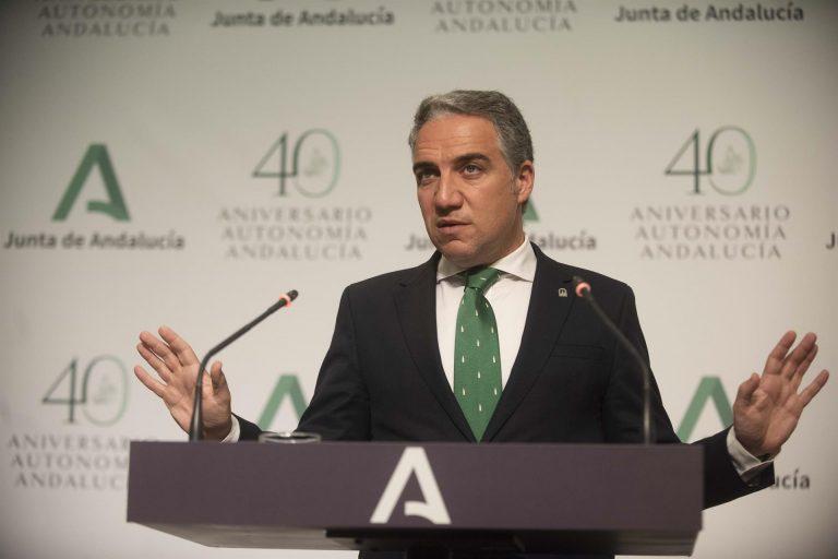 """Bendodo defiende que el pacto PP-Cs en la Junta """"goza de muy buena salud"""" tras la ruptura del gobierno local de Granada"""