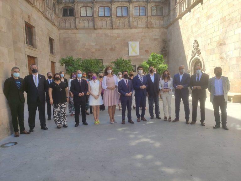 """Aragonés, al recibir a los indultados: """"Que nadie se equivoque. Seguimos empeñados en hacer posible la independencia"""""""