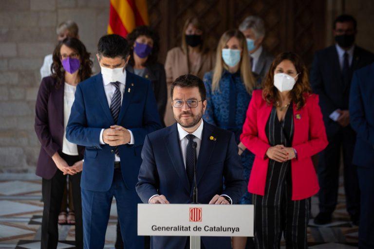 El Govern catalán plantará a Sánchez en el acto en el que se prevé que anuncie los indultos