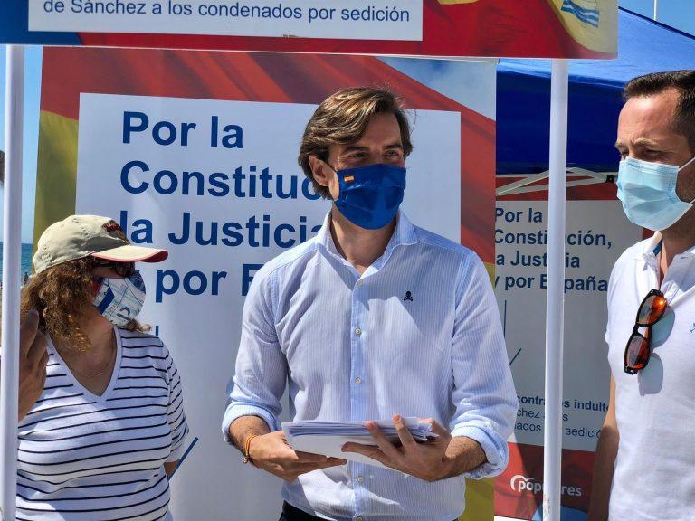 El PP pide a Díaz y Espadas que se pronuncien «alto y claro» sobre los indultos
