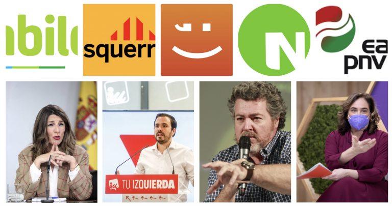 Díaz, Colau, Garzón, CCOO y UGT y el presidente de Bolivia mostrarán apoyo a Podemos en su Asamblea Ciudadana