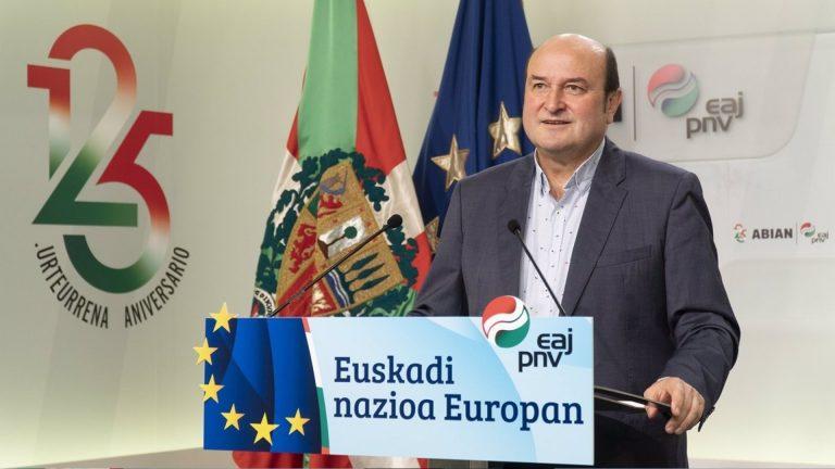 """El PNV defiende seguir apoyando a Sánchez porque """"la alternativa"""" de PP y Vox """"sería mala para Euskadi y la democracia"""""""