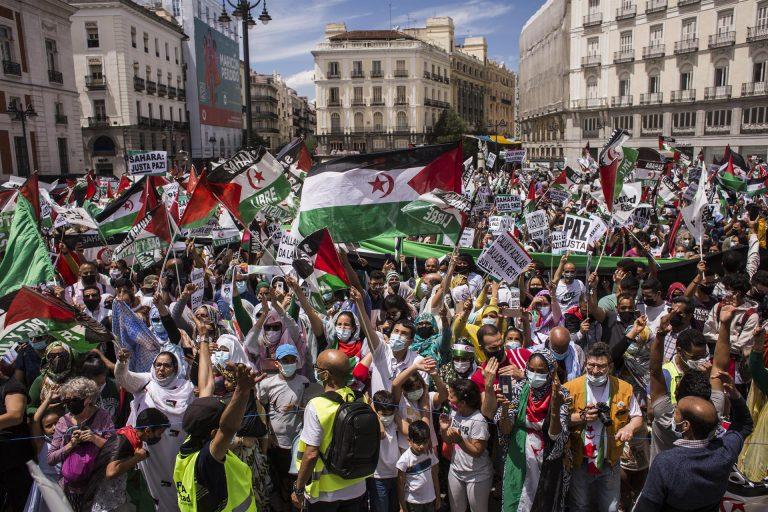 La Marcha Saharaui reúne a centenares de personas en Madrid para protestar contra la vulneración de derechos en el territorio