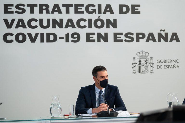 """Sánchez celebra superar los 10 millones de vacunados con pauta completa: """"Seguimos cumpliendo objetivos"""""""