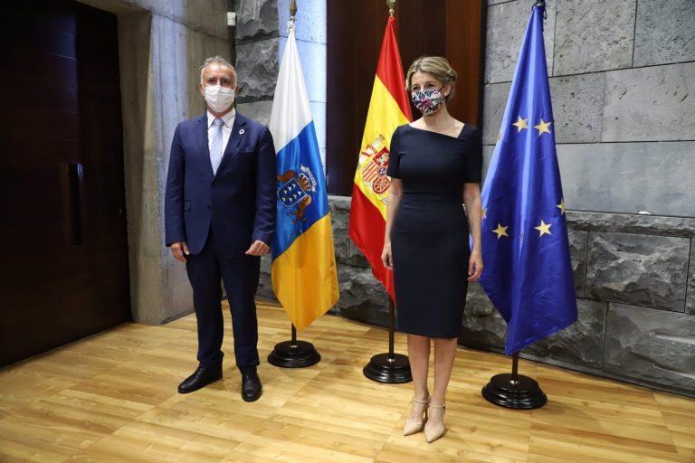 Yolanda Díaz dice que los ERTES seguirán más allá de septiembre si es necesario