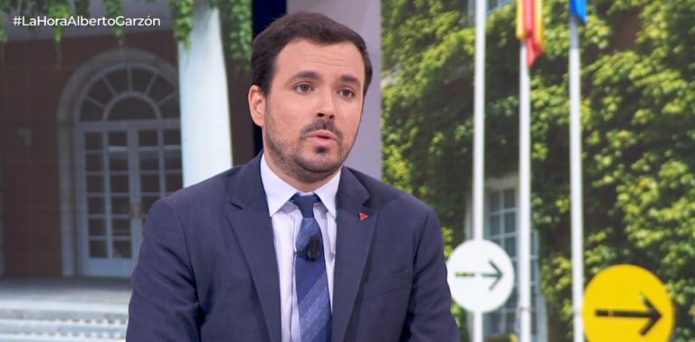 Garzón se reafirma en su apuesta por el cambio de hábitos de consumo