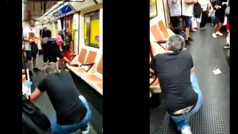 El detenido por agresión a un enfermero en el metro de Madrid está reclamado por un juzgado de Palma por robo