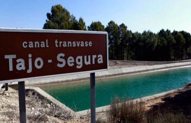 Autorizado un trasvase del Tajo al Segura de 38hm3 en julio, que se reducirá a 20hm3 desde agosto a final de año