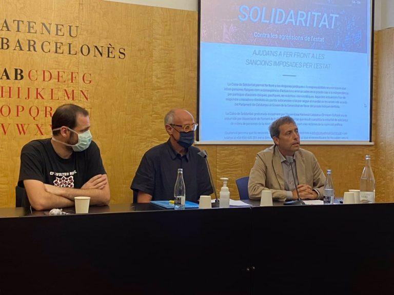 La Caja de Solidaridad del independentismo pide aportaciones para pagar las fianzas del Tribunal de Cuentas