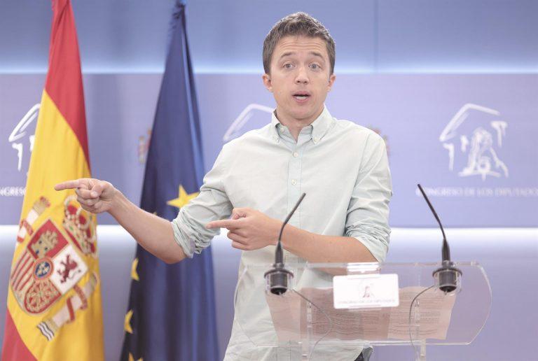 Errejón critica que el plan de salud mental del Gobierno equivale a medio euro por persona al año