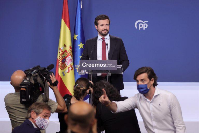 Casado responde a Sánchez: medalla de oro en destrucción de la economía, plata en mortalidad y bronce en romper empleo