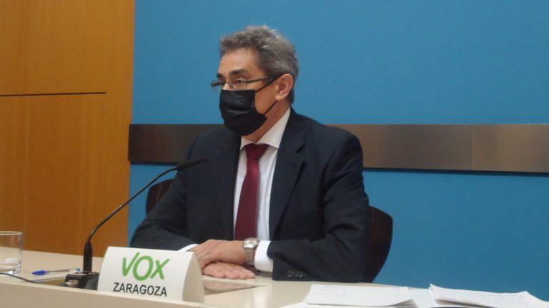 Julio Calvo (Vox) dice que Pilar Alegría «no está capacitada» para ser ministra de Educación