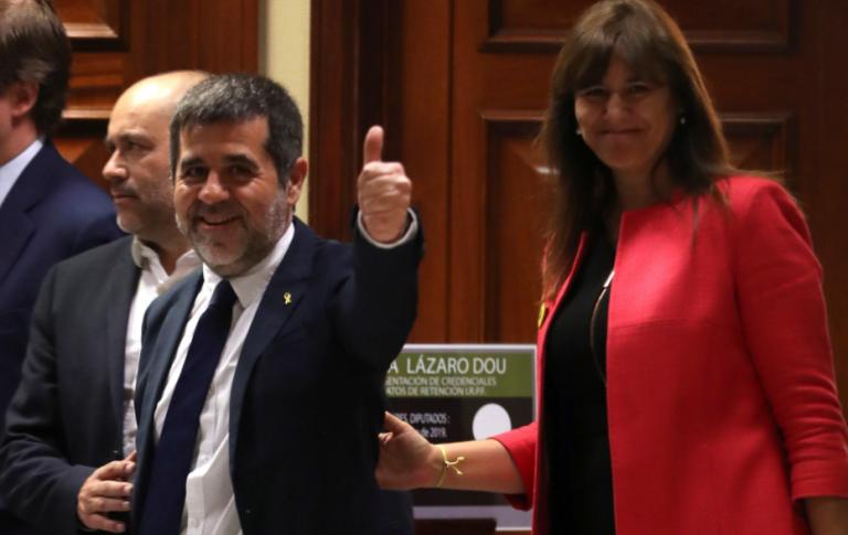 Borràs niega mala relación con Jordi Sànchez dentro de Junts