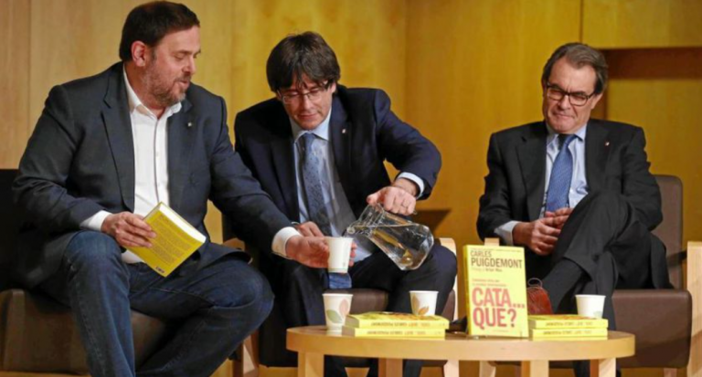 Mas, Junqueras  y Puigdemont , entre otros, ya han depositado los avales que les exige el Tribunal de Cuentas