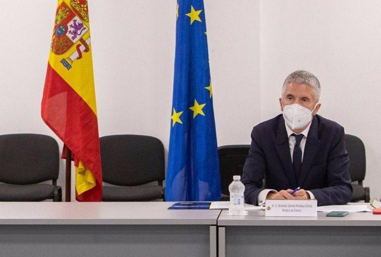 Marlaska pide a los países de la UE más solidaridad en el futuro Pacto sobre Migración