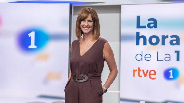 Mónica López, cesada como presentadora de La Hora de La 1