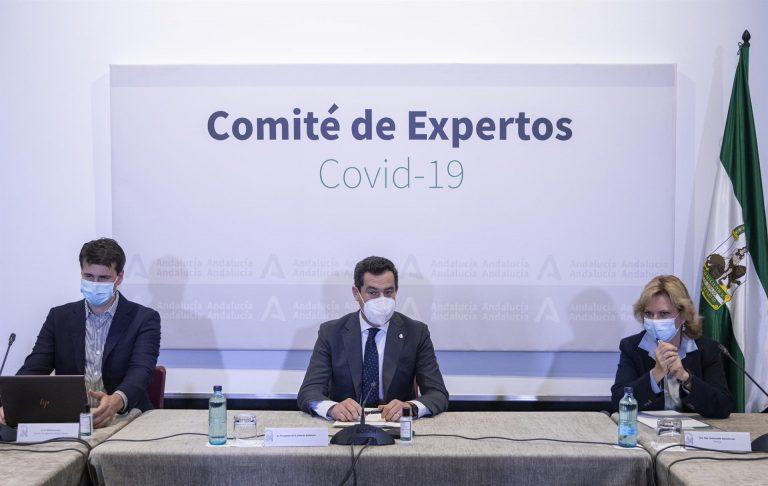 Andalucía propone un toque de queda de 2 a 7 horas en municipios con tasa superior a 1.000 casos