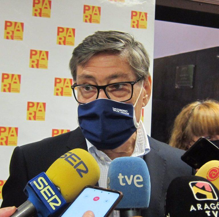 """El presidente del PAR, sobre el nombramiento de Alegría: """"Tener una aragonesa solvente de ministra es una buena noticia"""""""