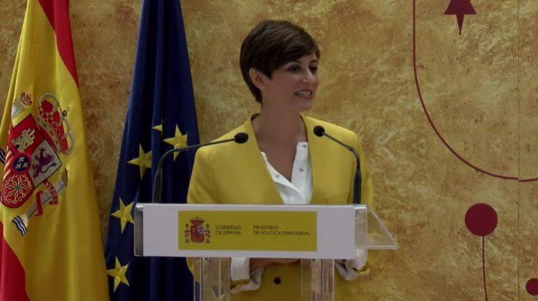 Isabel Rodríguez se reúne con el presidente de Melilla y destaca el interés del Gobierno con las ciudades autónomas