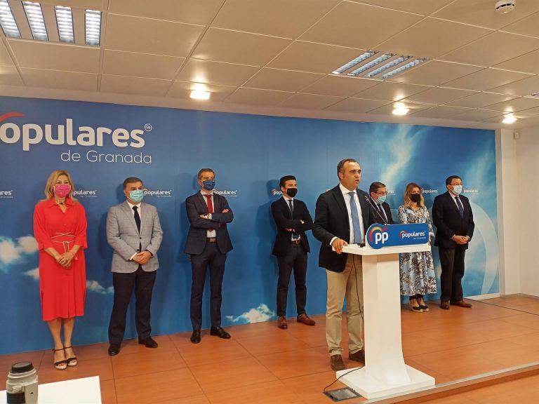 El PP presentará candidato en Granada y pide que Cs «cumpla su palabra y posibilite alternancia»