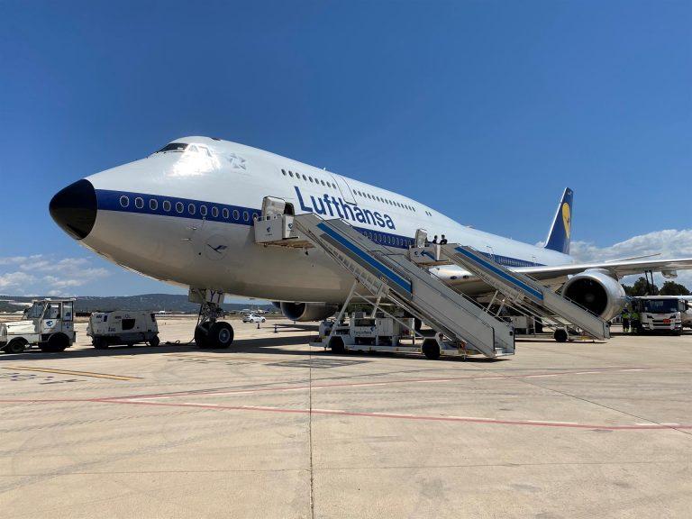 Lufhansa despliega vuelos «extra-grandes» para atender la demanda creciente de turismo a Mallorca