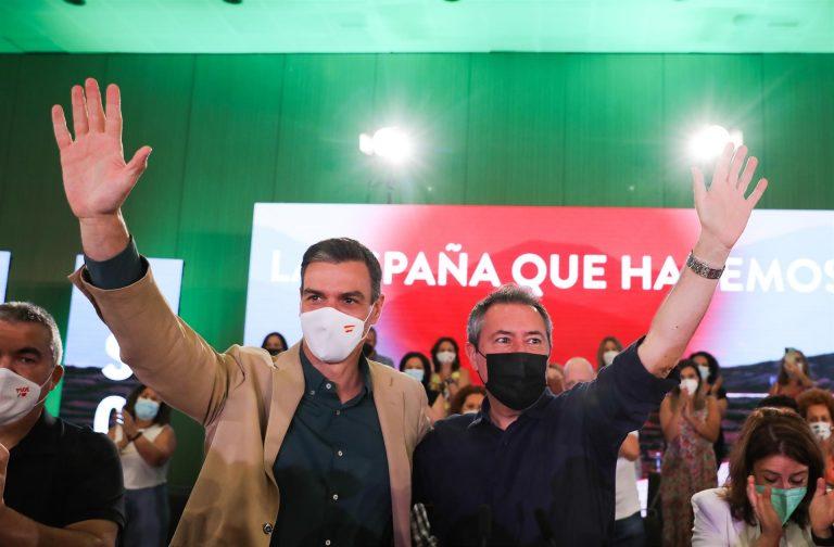 """Pedro Sánchez, a Juan Espadas: """"Dentro de muy poco, te voy a tener como aliado al frente de la Junta de Andalucía"""""""