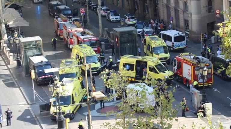 Cuarto aniversario de los atentados de Barcelona y Cambrils