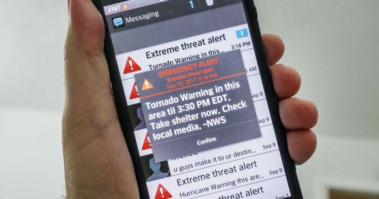 El Gobierno diseña un sistema público de emergencias con avisos masivos a móviles