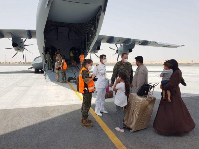 Aterriza en Torrejón el segundo avión español con 110 afganos evacuados