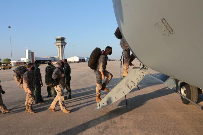 El primer avión que repatriará a los españoles de Afganistán ya ha aterrizado en Kabul