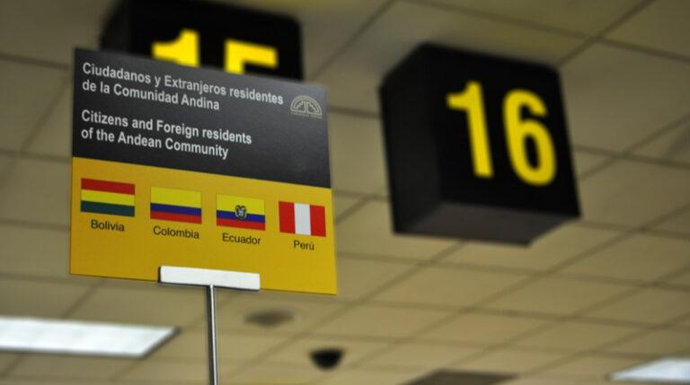 Entra en vigor el Estatuto Migratorio Andino entre Bolivia, Colombia, Ecuador y Perú