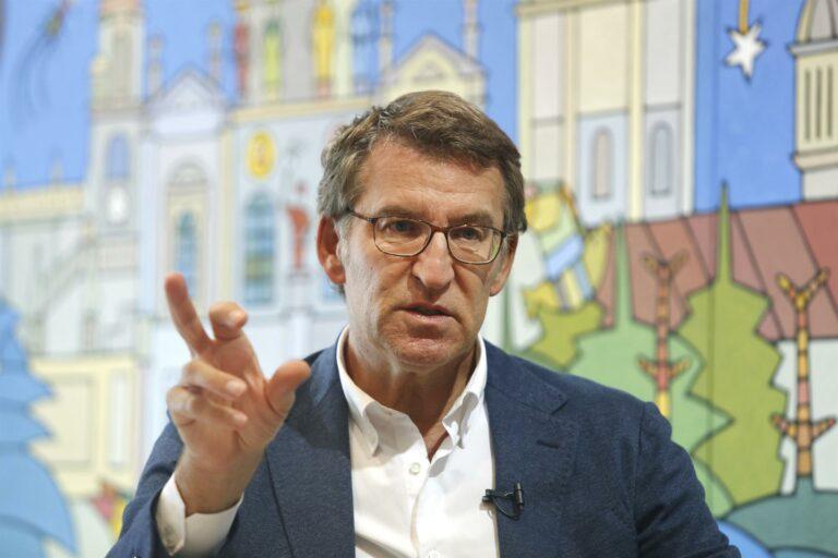 Feijóo no asistirá el martes a los actos por el Día de la Hispanidad en Madrid