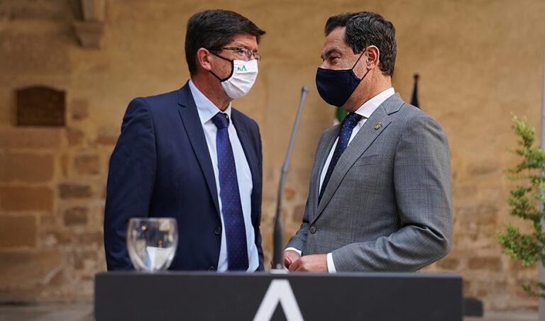 """Cs Andalucía dice que no hay """"prisa"""" por elegir candidato porque no habrá adelanto electoral"""