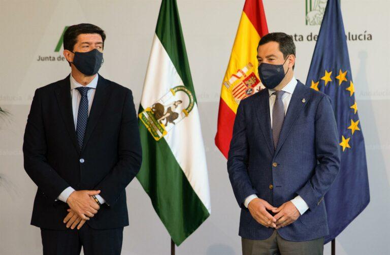 Moreno condena el crimen machista en Sevilla: «No podemos acostumbrarnos a hechos tan horribles»