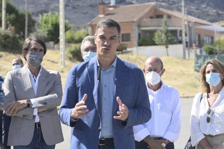 El Gobierno declarará este martes «zonas gravemente afectadas» a las CCAA que hayan sufrido incendios este verano
