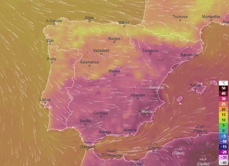 Alerta por temperaturas altas en algunas zonas, pero ambiente otoñal en otras