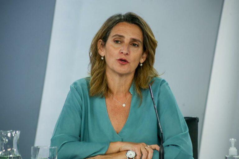 """Ribera acusa a Echenique de hacer """"demagogia barata"""" al decir que el precio de la luz se resuelve con un decreto"""