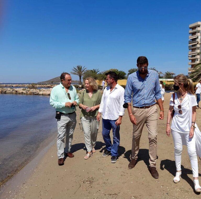 VOX presenta en el Congreso una PNL para salvar el Mar Menor y pide la comparecencia de Ribera