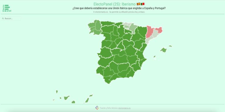 EP (2S): los españoles, a favor de una unión ibérica con Portugal. Los portugueses, no