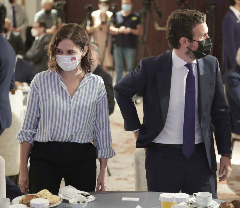 'Génova' cree que sería bueno que Ayuso vaya a la Convención