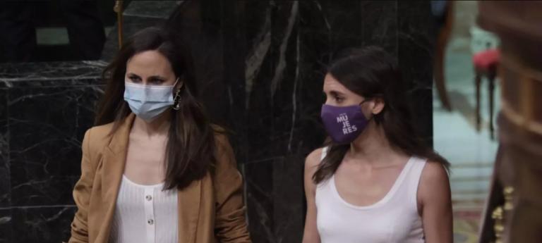 Belarra y Montero acusan al PP de «blanqueamiento» del «discurso de odio» de Vox