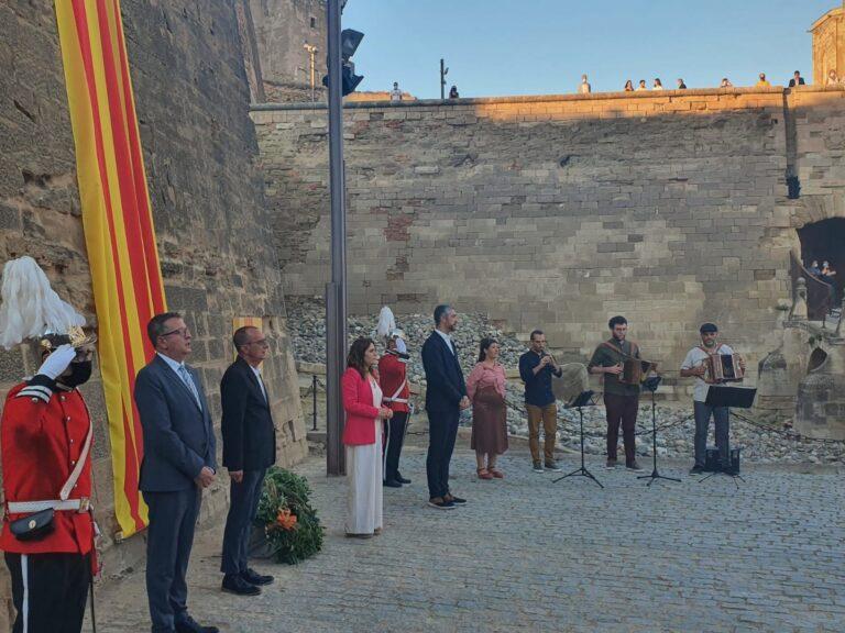 El Govern afirma que esta Diada ha sido la cuarta que Cataluña no vive con «normalidad»