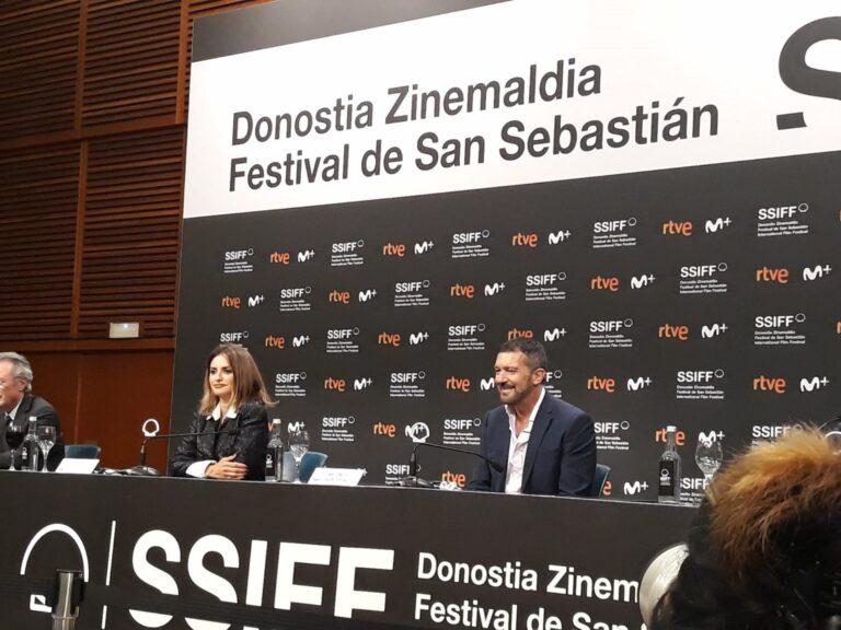 Antonio Banderas y Penélope Cruz reclaman mayor apoyo institucional para el cine español