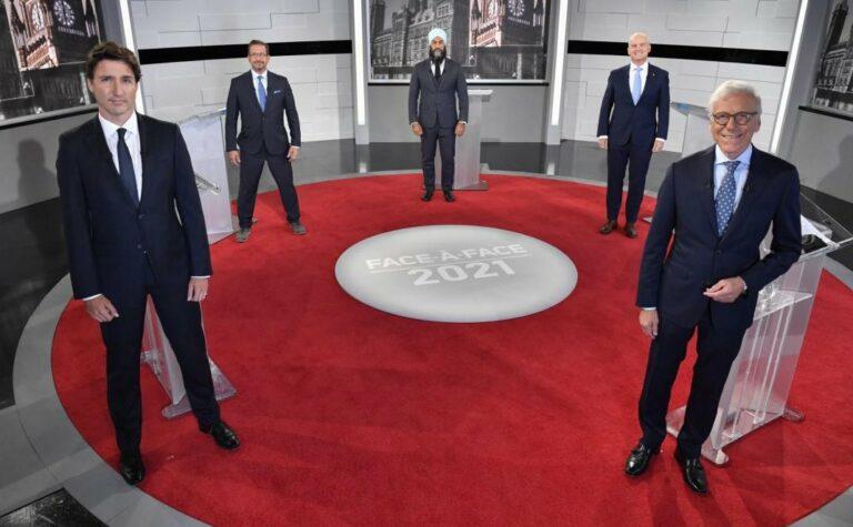 Canadá: primer (y bronco) debate electoral