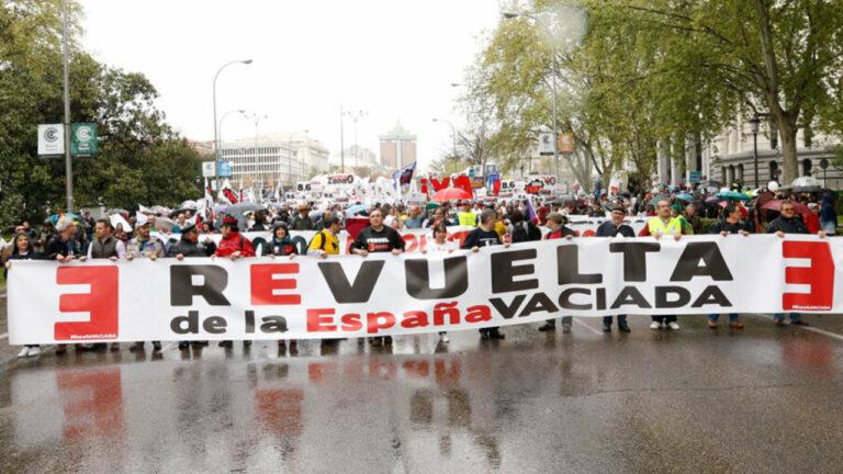 Colectivos contra la 'España Vaciada' deciden presentarse a las próximas elecciones